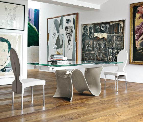 Wave von Tonin Casa | Dining tables