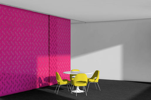 ARO   Array 5 Hanging Panel by FilzFelt   Sound absorbing suspended panels