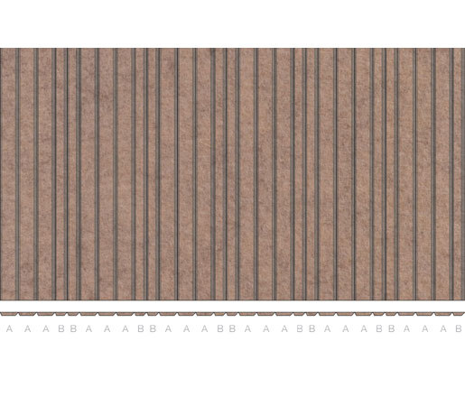 ARO | Plank 2 by FilzFelt | Sound absorbing suspended panels