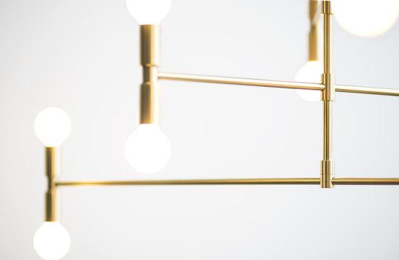 Atomium by Lambert et Fils | Suspended lights