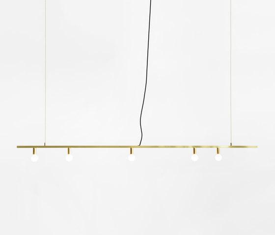 Dot | Line Suspension by Lambert et Fils | Suspended lights