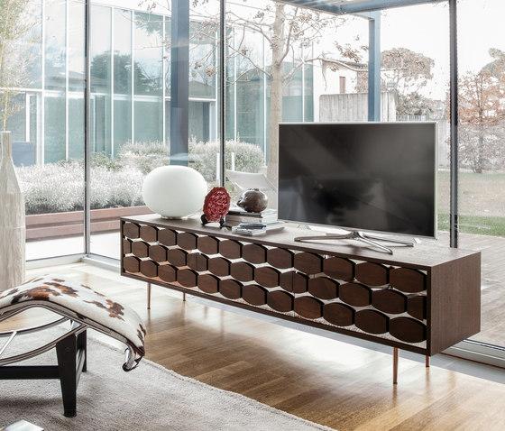 Honey TV Stand di Tonin Casa | Credenze multimediali