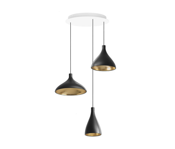 Swell Chandelier 3 by Pablo | Suspended lights