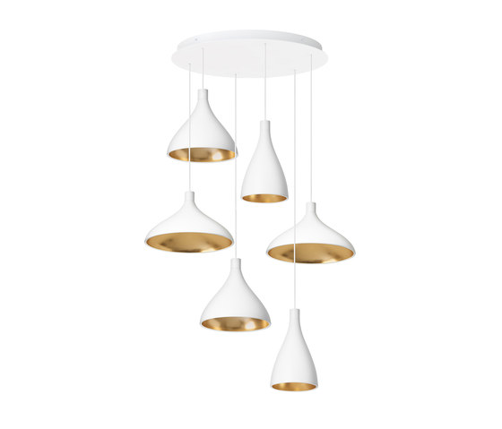 Swell Chandelier 6 by Pablo | Suspended lights