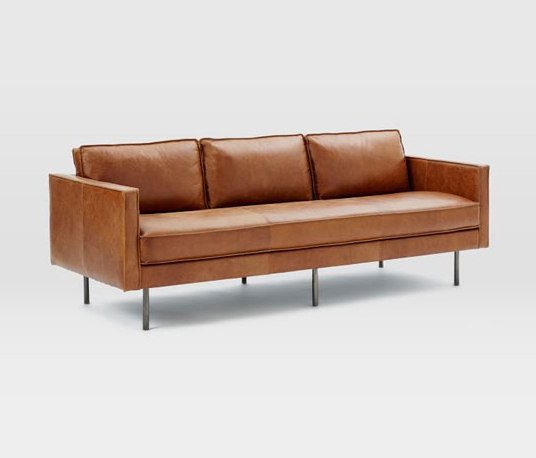 Axel Leather Sofa Lounge Sofas From Distributed By