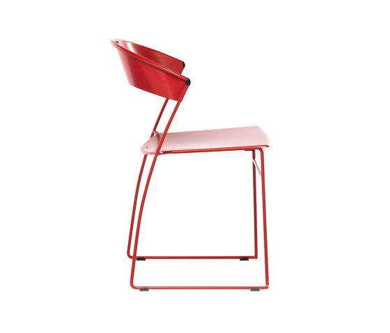 Juliette stackable chair by Baleri Italia | Multipurpose chairs