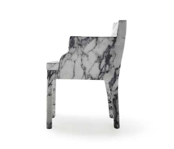Louis XV Goes To Sparta chair by Baleri Italia by Hub Design | Visitors chairs / Side chairs