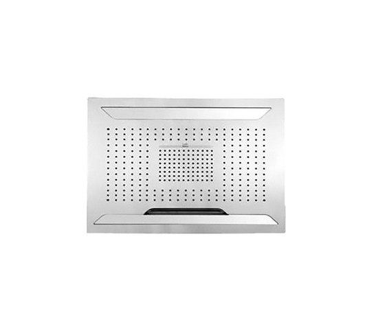 Aqua-Sense - Multifunction ShowerHead- Ceiling Mtd./Rain/LED Light/WaterFall/ by Graff   Shower controls