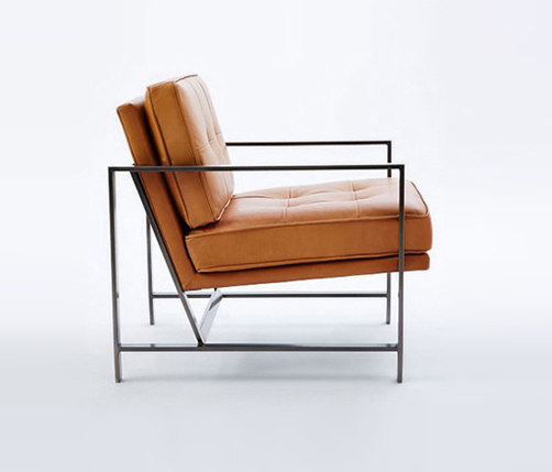 Delicieux ... Metal Frame Leather Chair By Distributed By Williams Sonoma, Inc. TO  THE TRADE