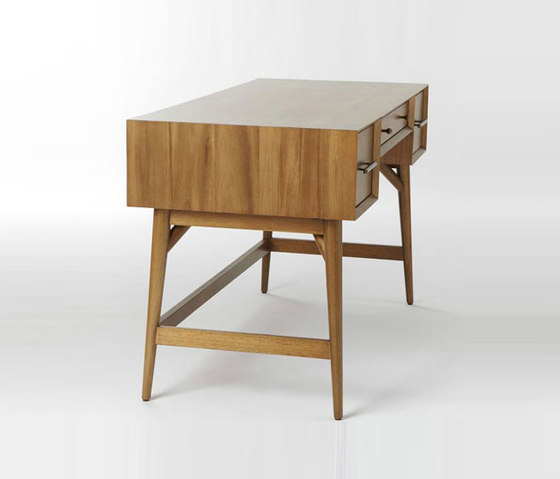 mid century desk acorn desks from distributed by williams sonoma inc to the trade architonic. Black Bedroom Furniture Sets. Home Design Ideas