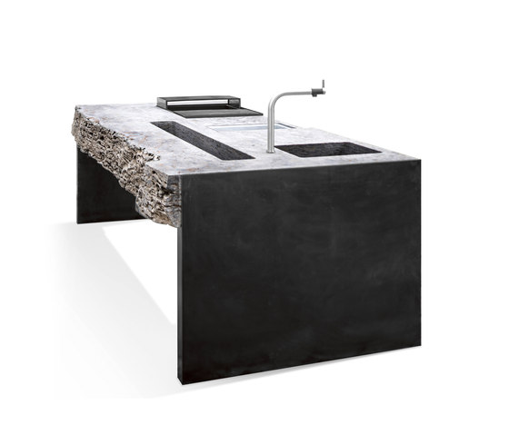 MKA01 by Hauser Naturstein | Compact outdoor kitchens