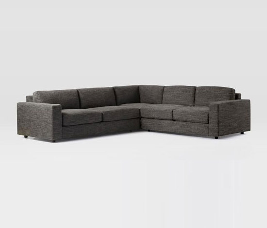 Urban 3 Piece Sectional By Distributed Williams Sonoma Inc To The