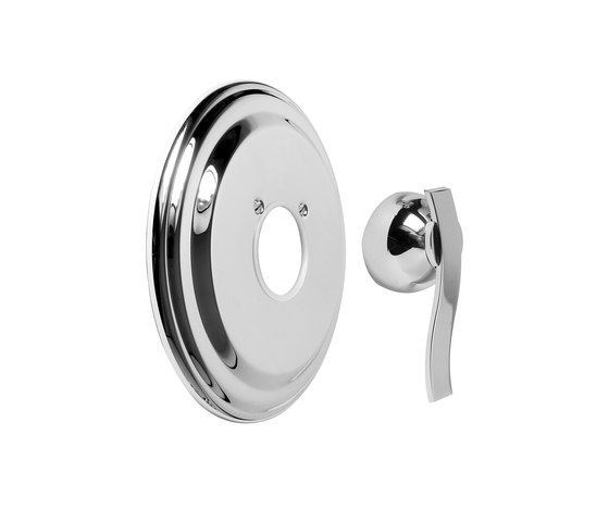 """Bali - Concealed shower mixer 1/2"""" - exposed parts by Graff 