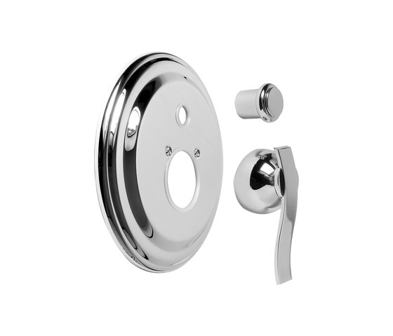 "Bali - Concealed shower mixer with diverter 1/2"" - exposed parts by Graff 