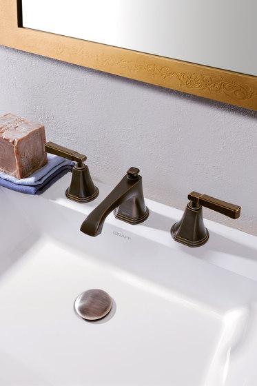 Finezza - Three-hole washbasin mixer by Graff | Wash basin taps