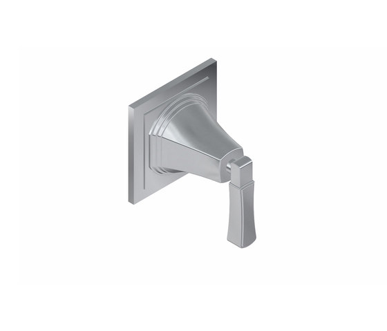 """Finezza - 1/2"""" concealed cut-off valve - exposed parts by Graff   Shower controls"""