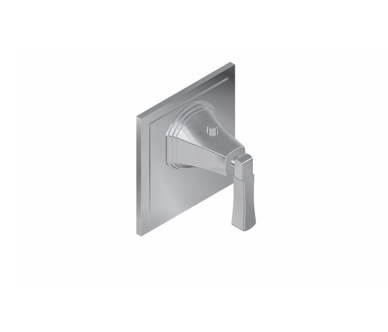 """Finezza - 3/4"""" concealed thermostatic valve - exposed parts by Graff   Shower controls"""