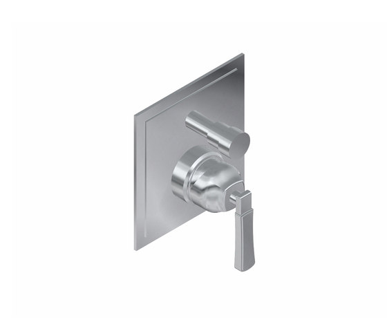 "Finezza - Concealed shower mixer with diverter 1/2"" - exposed parts by Graff 