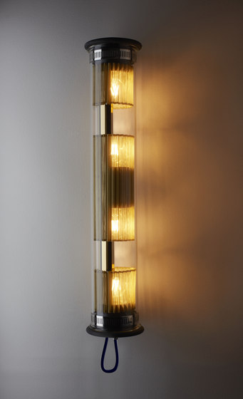 IN THE TUBE | 120-700 GOLD by DCW éditions | Wall lights