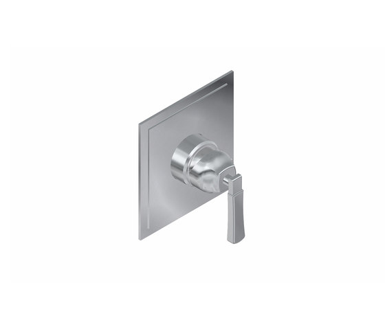 """Finezza - Concealed shower mixer 1/2"""" - exposed parts by Graff   Shower controls"""