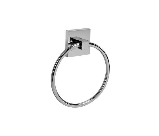 Immersion - Towel ring by Graff   Towel rails