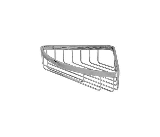 Immersion - Shower basket for corner installation by Graff | Bath shelves