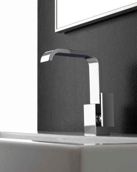 Immersion - Single lever basin mixer by Graff | Wash basin taps