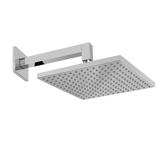 Sade - Shower head with shower arm - complete set by Graff | Shower controls