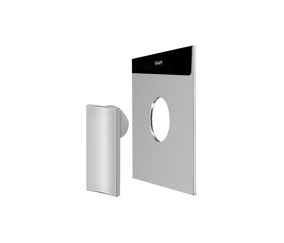 """Sade - Concealed shower mixer 1/2"""" - exposed parts by Graff 