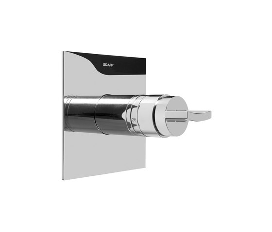 """Sade - 1/2"""" concealed thermostatic valve - exposed parts by Graff 