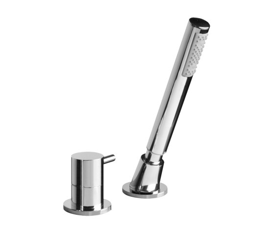 M.E. 25 - Deck-mounted handshower & diverter - Complete by Graff | Bath taps