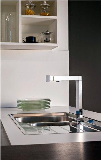 Manhattan - Kitchen Mixer by Graff | Kitchen taps