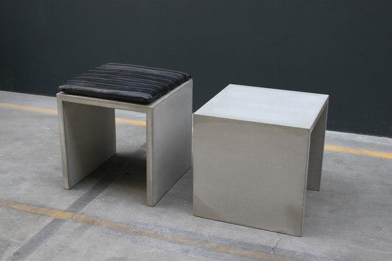 Petit de Concrete Home Design | Taburetes