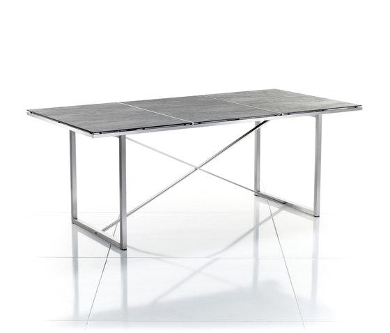 Tavolo da pranzo serie x tavoli pranzo solpuri architonic for Produttori tavoli