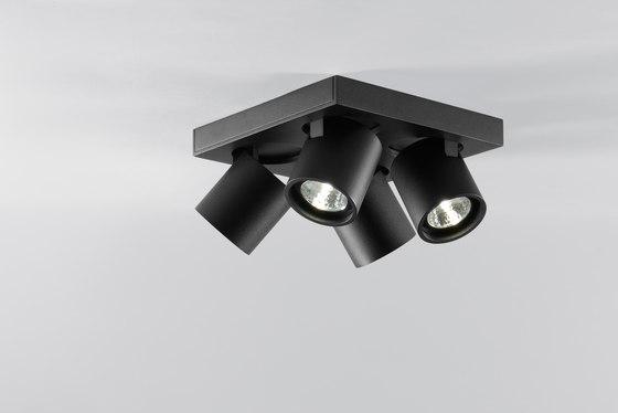 Focus 4 di Light-Point   Lampade plafoniere