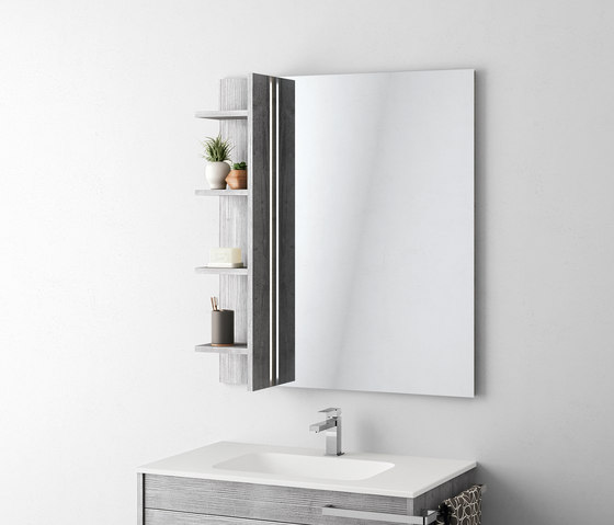Duetto 01 mensole bagno mastella design architonic for Mensole design bagno