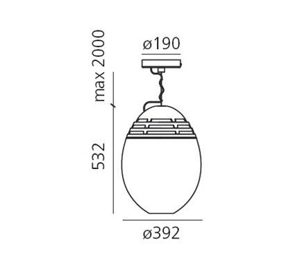 Incalmo Pendant lamp by Artemide | General lighting