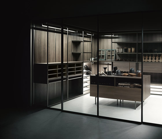 Antibes by Boffi | Walk-in wardrobes