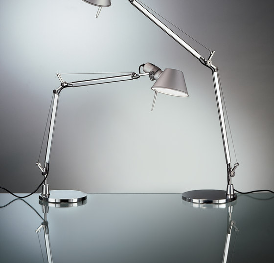 tolomeo mini led table lamp task lights from artemide architonic. Black Bedroom Furniture Sets. Home Design Ideas