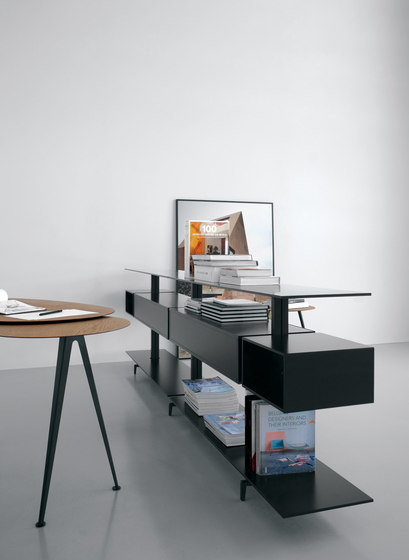 System SY52 by Extendo | Office shelving systems
