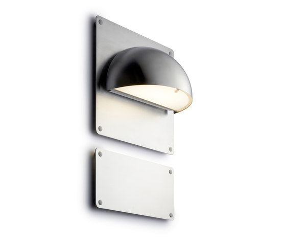 Rørhat Backplate & Nameplate by Light-Point | Outdoor wall lights