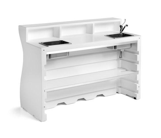 Bartolomeo | Desk 2 de PLUST | Comptoirs