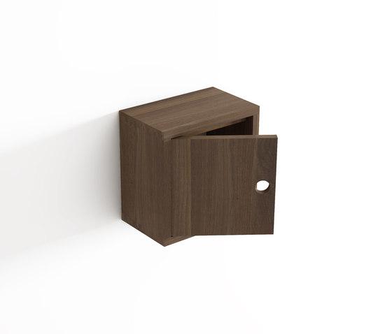 Wall box by Idi Studio | Bath shelving