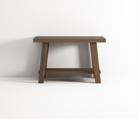 Stool with shelf by Idi Studio | Stools / Benches