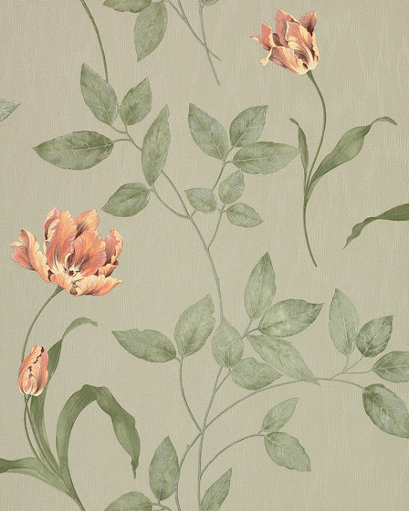 STATUS - Flower wallpaper EDEM 769-38 by e-Delux | Wall coverings / wallpapers
