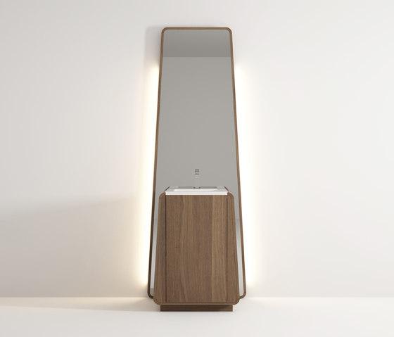 Totem standing basin de Idi Studio | Espejos