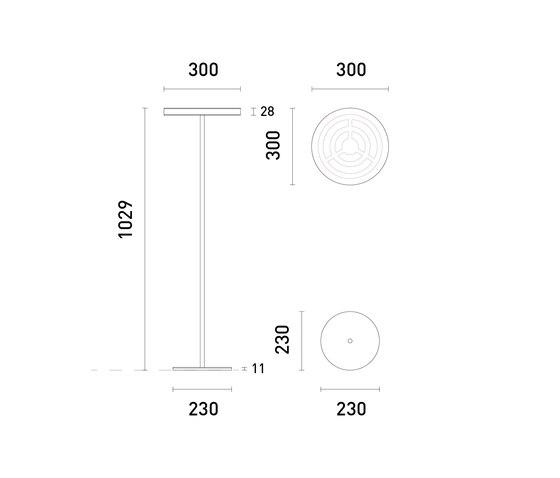 OMLED Two d30l di OMLED | Lampade tavolo