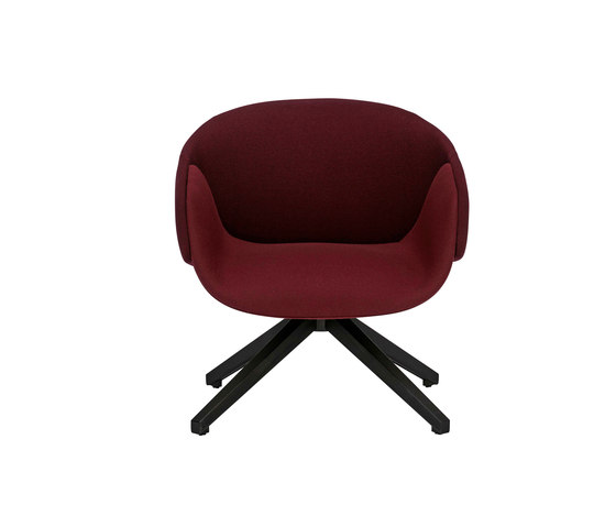 Anita Armchair Low Back Swivel Base de SP01 | Fauteuils