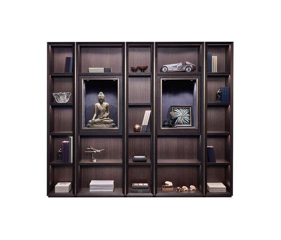 Nightwood modular bookcase de Promemoria | Étagères