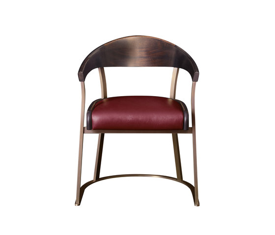 Rachele chair with arms by Promemoria | Chairs